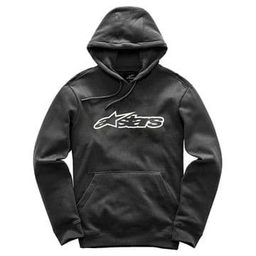 Alpinestars Casual Astars Blaze Fleece Pullover Hoodie - Black & White